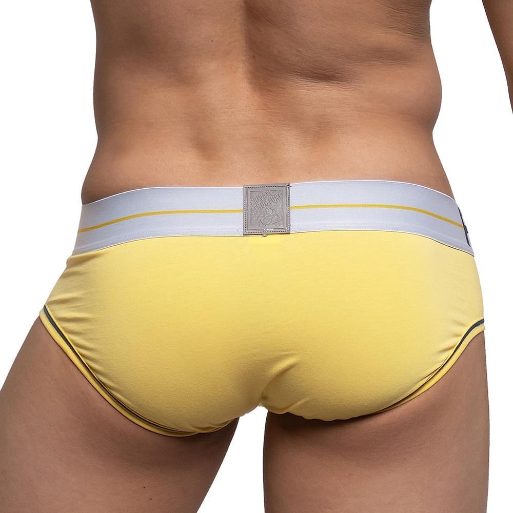 MO Lite Mini Brief - Cream Yellow/WH