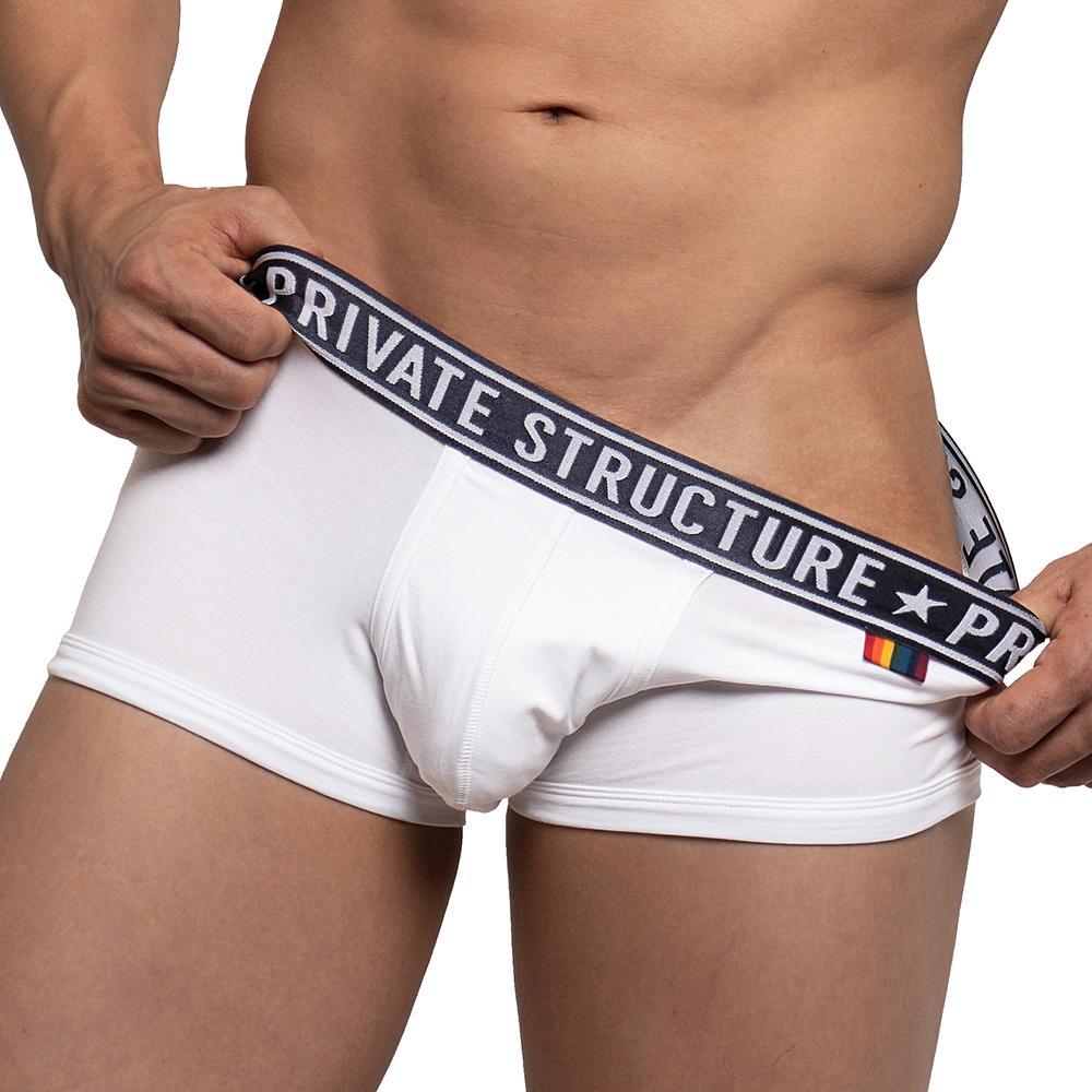 Pride Trunk Underwear EPUY4020B - Loadful White